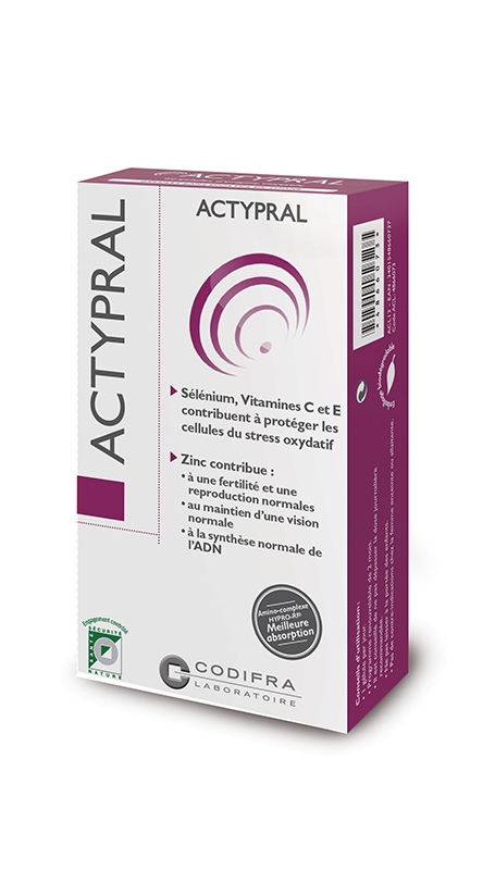 ACTYPRAL, anti-oxydant, protection cellulaire